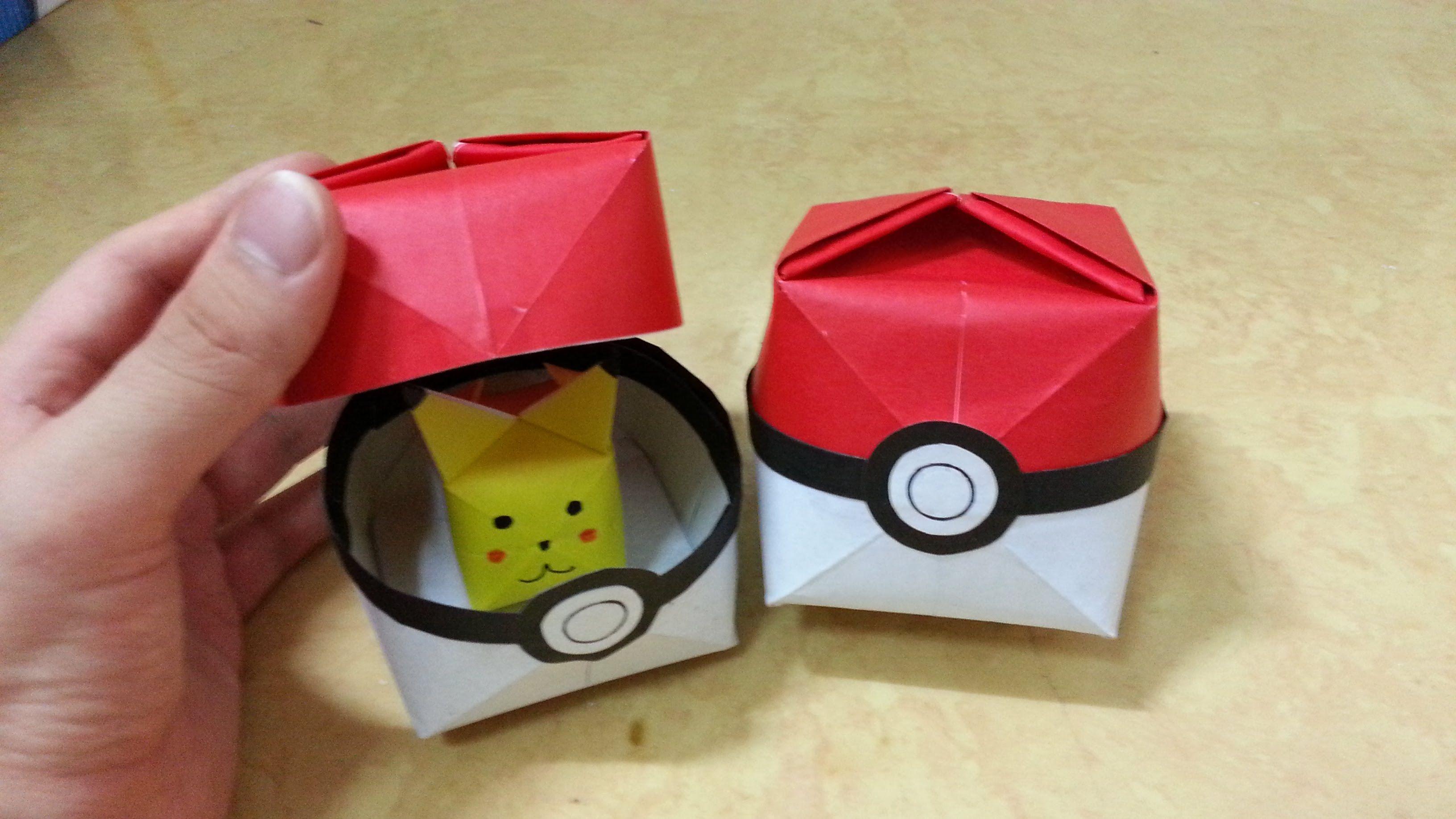 517 ������ go ������2 1 ������� origami pokeball ������� pokemon