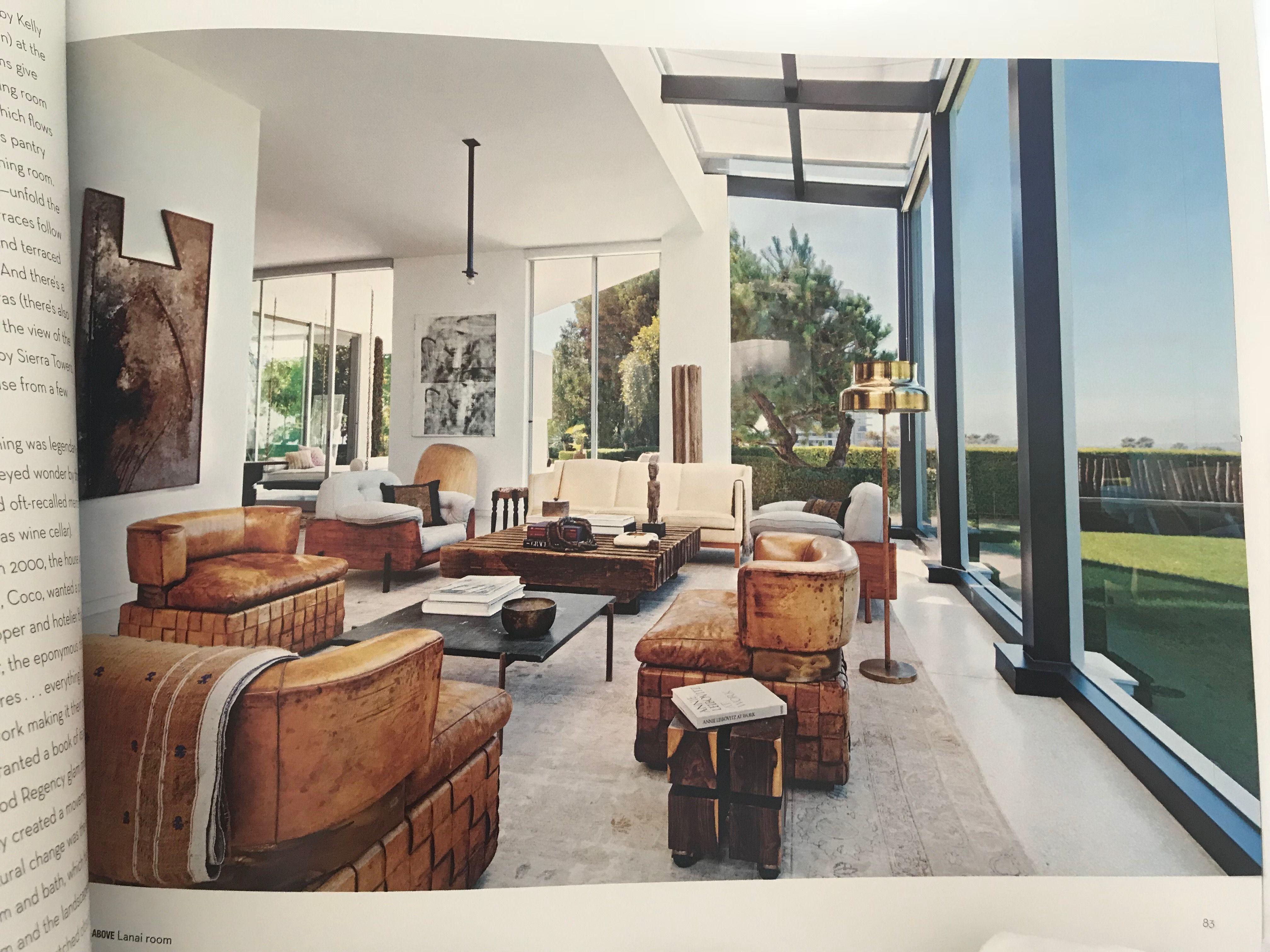 Lanai Room Of The Skouras House Trousdale Estates Tuscan