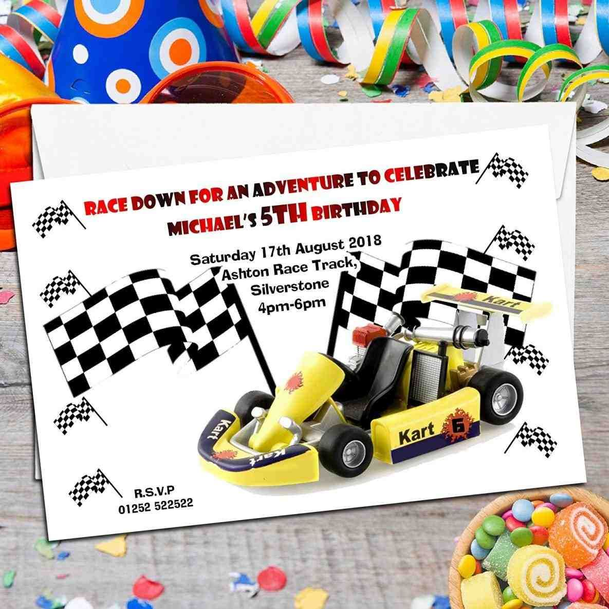 free printable invitations army, car racing swim party events ...