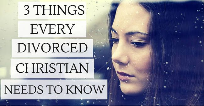 Dating in the christian world after divorce