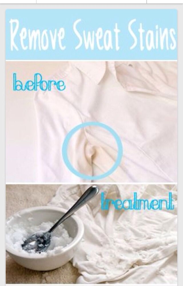 how to remove sweat stains health beauty fitness pinterest remove sweat stains sweat. Black Bedroom Furniture Sets. Home Design Ideas
