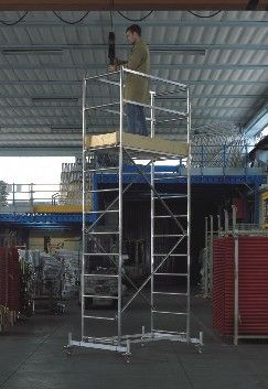 Scaffolds And Special Structures Aluminium Heavy Duty