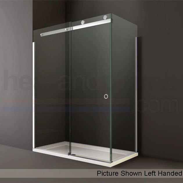 Merlyn Series 10 Sliding Door Shower Enclosure 1200mm X 800mm Low Profile Tray 10mm Glass Sliding Shower Door Shower Sliding Glass Door Shower Door Handles