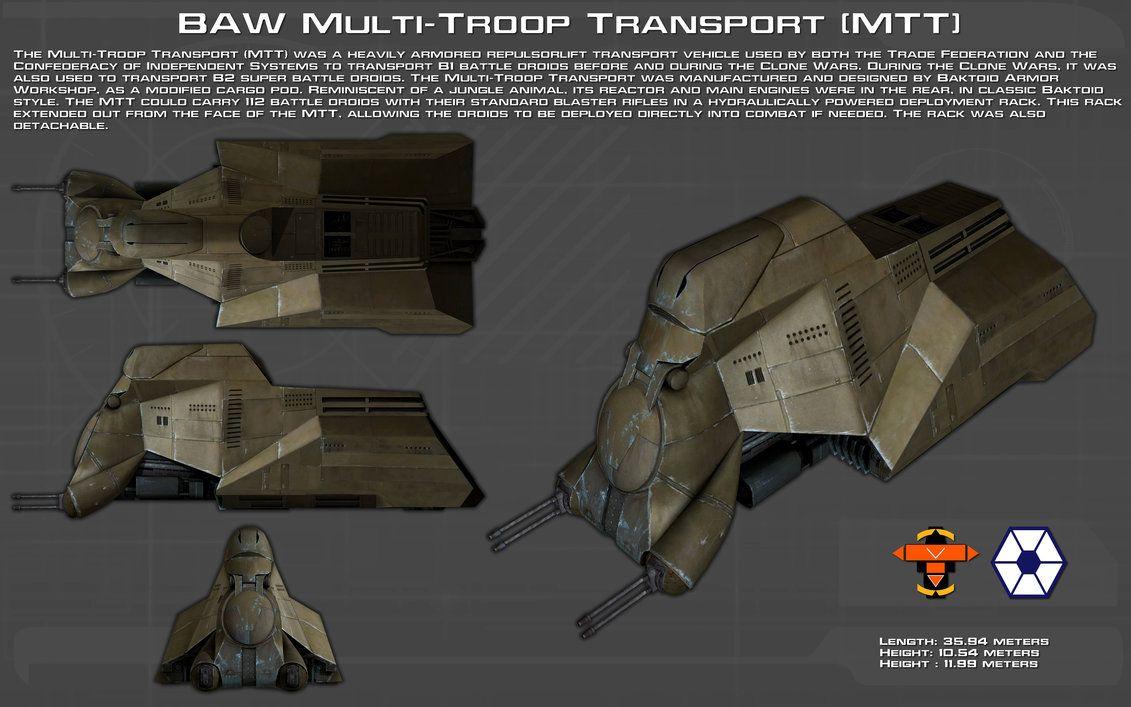 BAW Multi-Troop Transport [MTT] ortho [Updated] by unusualsuspex on DeviantArt