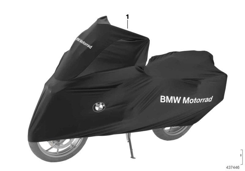 542ae8138921 Genuine BMW Motorrad Motorcycle Bike Cover Indoor For GS GSA XR 77028555890
