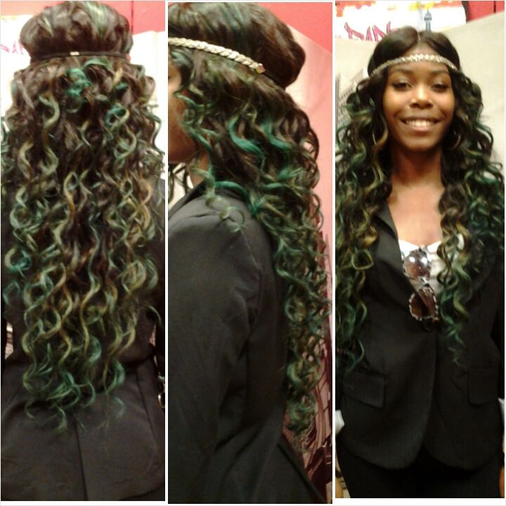49+ Wand curl sew in inspirations