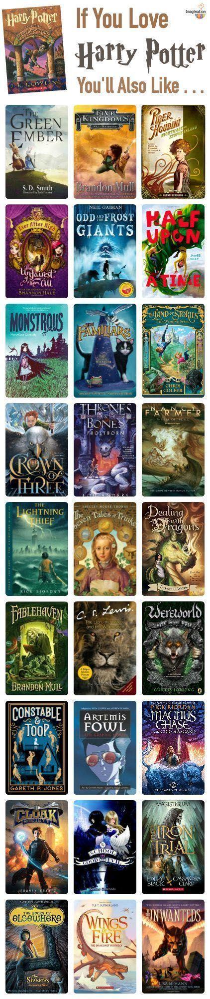 if you like harry potter | kids books | pinterest | harry potter