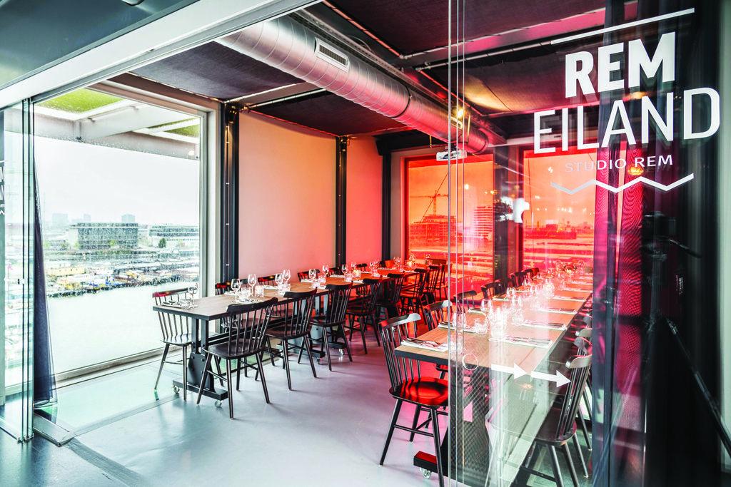 REM Eiland Restaurant   Amsterdam   Restaurant concept, Restaurant, Unique restaurants