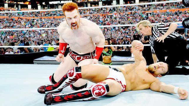 Resultado de imagem para daniel bryan sheamus wrestlemania