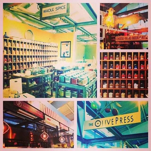 Great foodie finds at Oxbow Market in Napa.