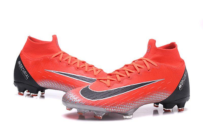quality design 433c0 ff490 Ronaldo Nike Mercurial Superfly VI 360 Elite FG Botas - Rojo Negro