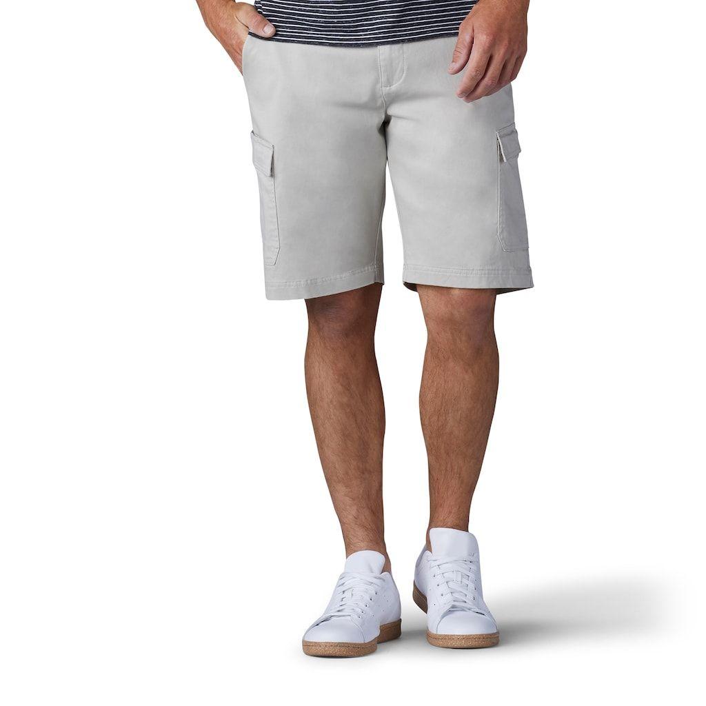 Men S Lee Straight Fit Extreme Comfort Cargo Shorts Man Lee Men