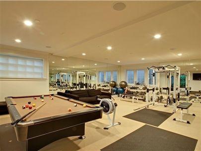 rec roomdream space  home gym design at home gym home