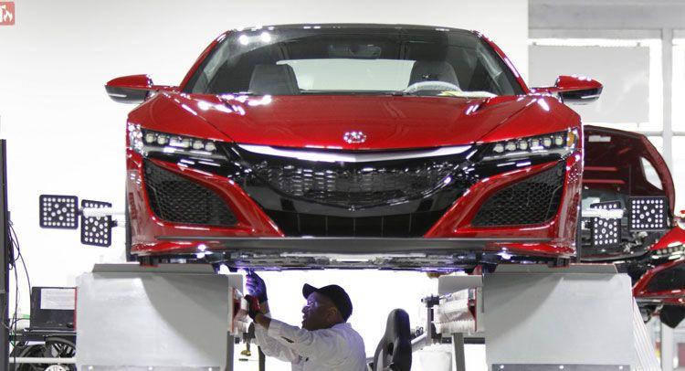 Honda's Acura NSX building in Ohio! Nsx, Acura nsx, Acura