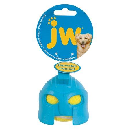 Jw Helmet Head Dog Toy Gladiator Dog Toys Dog Chew Toys