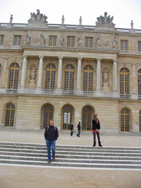 Pere et fille a Paris
