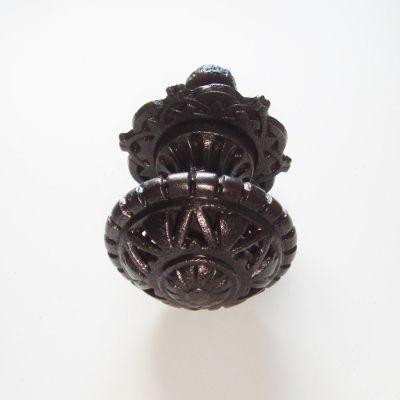 Original Reclaimed Victorian Cast Iron Door Pull Knob By Kenrick U0026 Co. This  Antique Cast