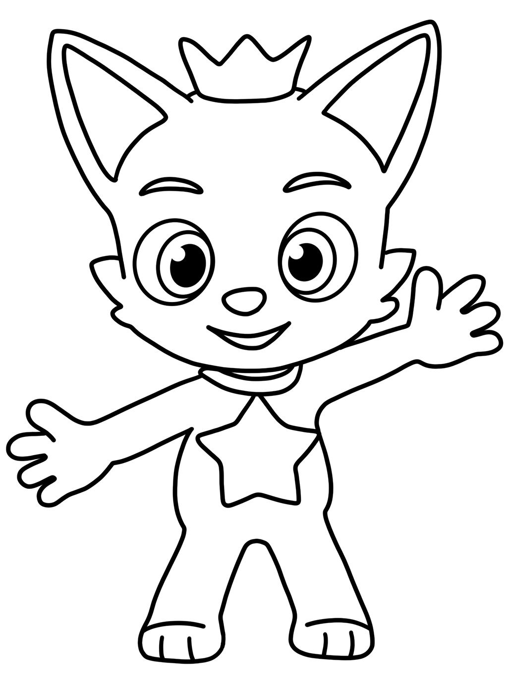 Pinkfong Coloring Pages For Kids Tinkerbell Coloring Pages Picasso Coloring Fairy Coloring Book