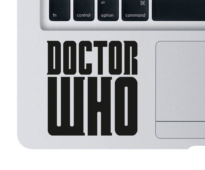 Dr Who / Doctor Who Vinyl Decal - iPad / tablet / car / laptop. $3.00, via Etsy.