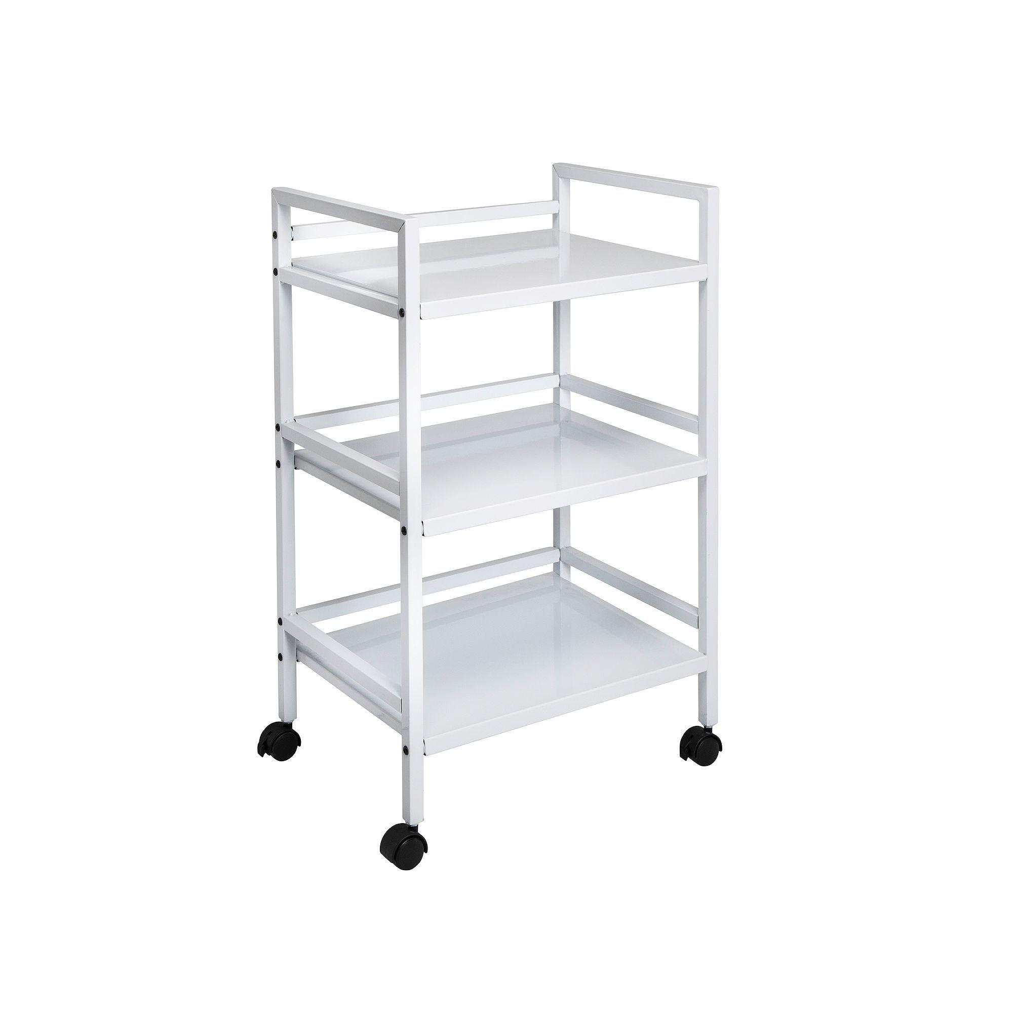 Honey Can Do 3 Tier Rolling Cart Rolling Utility Cart Shelves