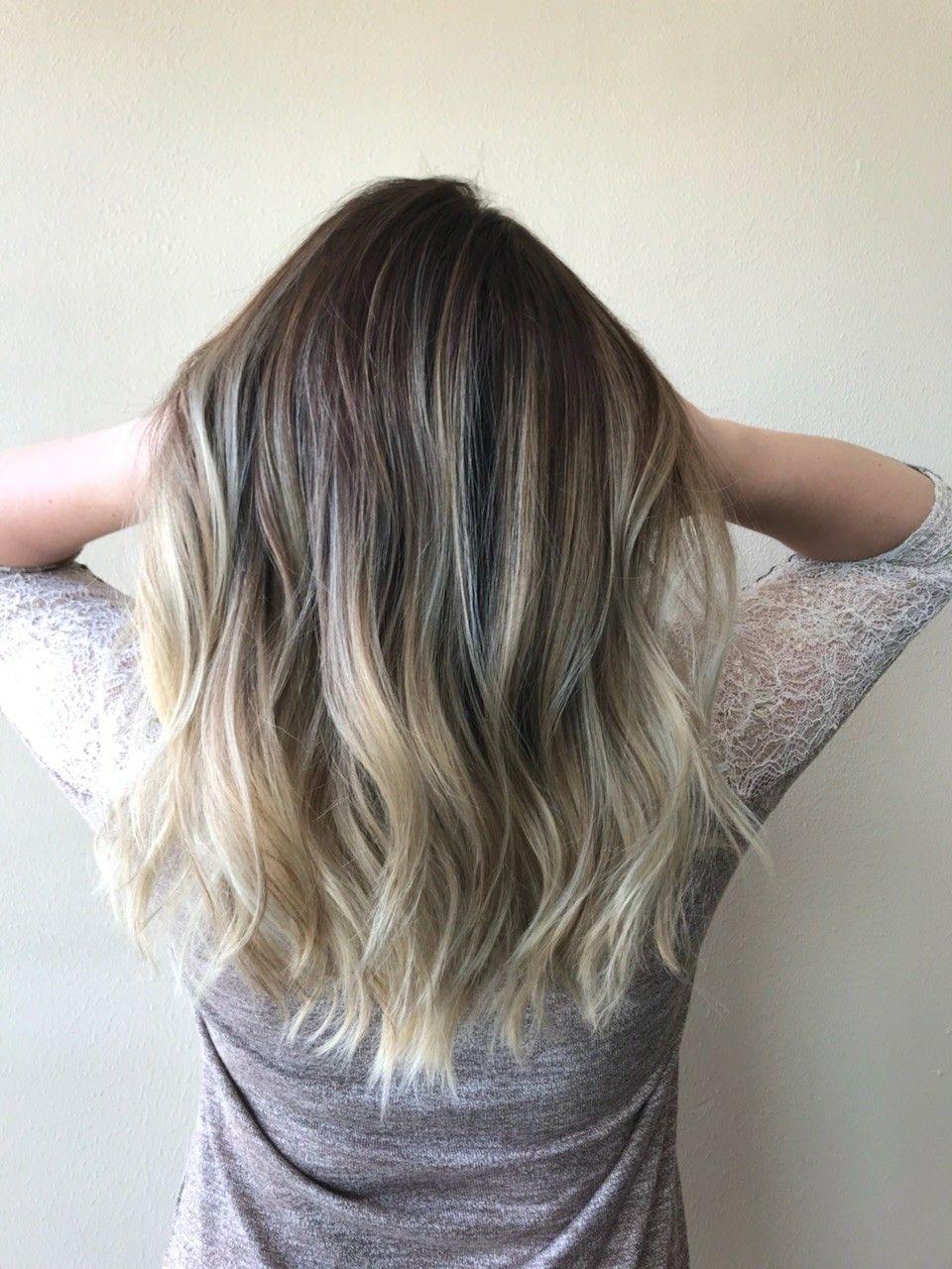 Balayage ombre by phoenix topchic hair studio hair