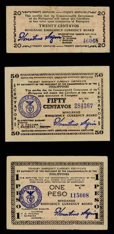 Philippines Currency Certificate