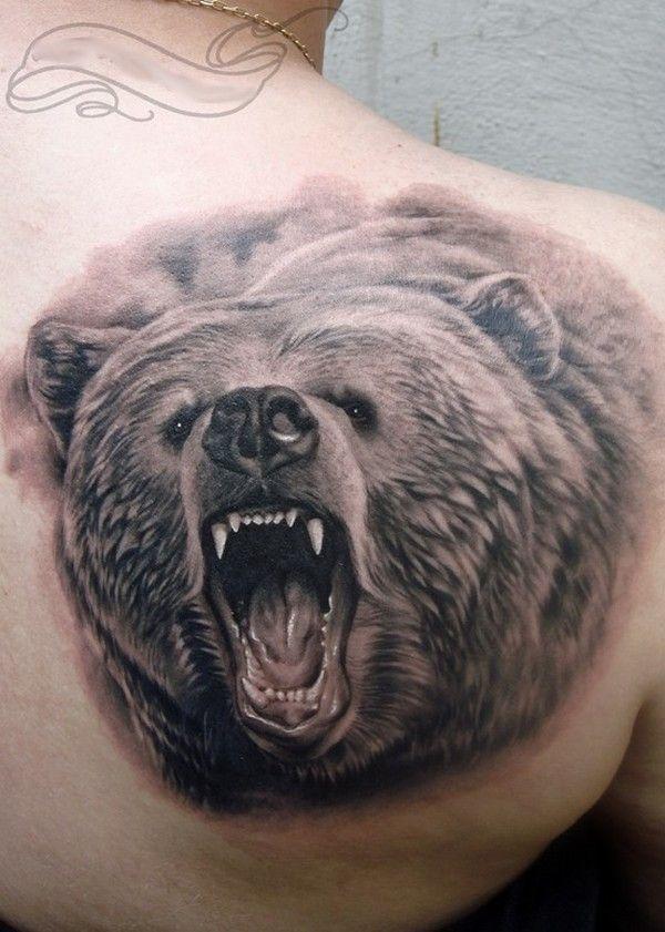Bären Tattoos   Bär tattoos, Bär tattoo bedeutung und