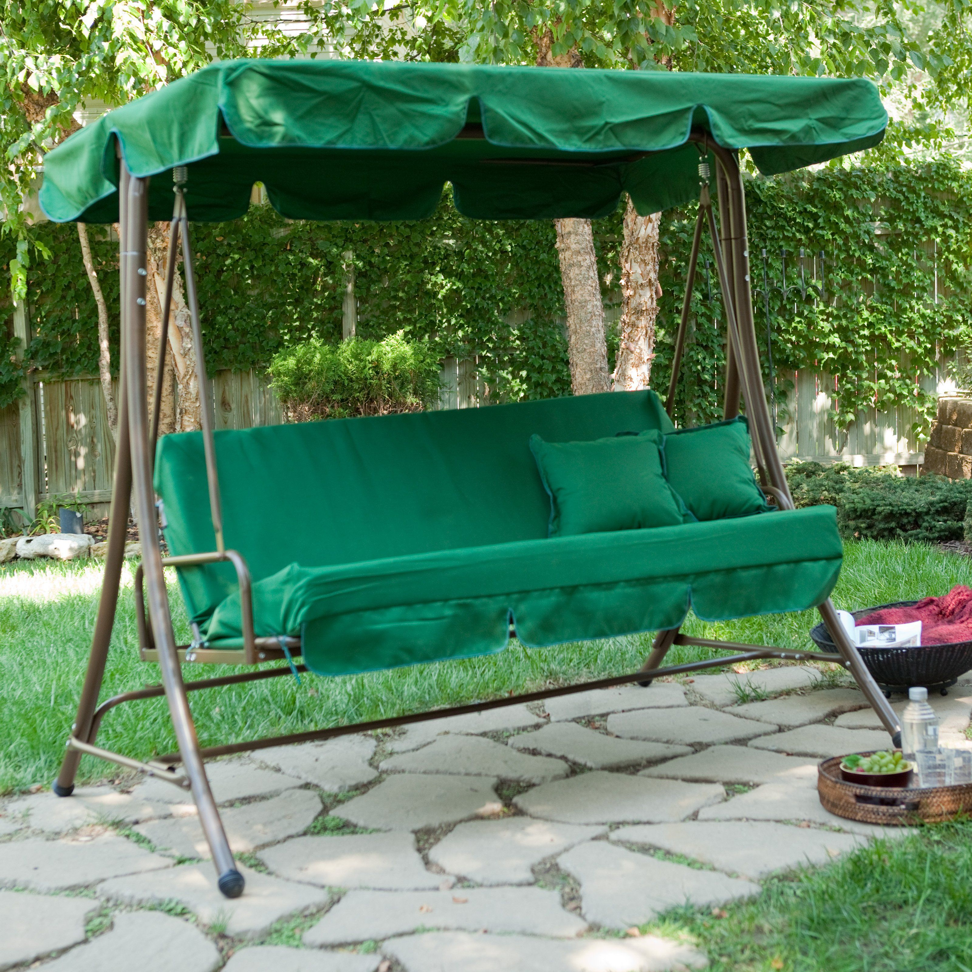 Have to have it. Lazy Caye 3 Person Swing Bed - love it!