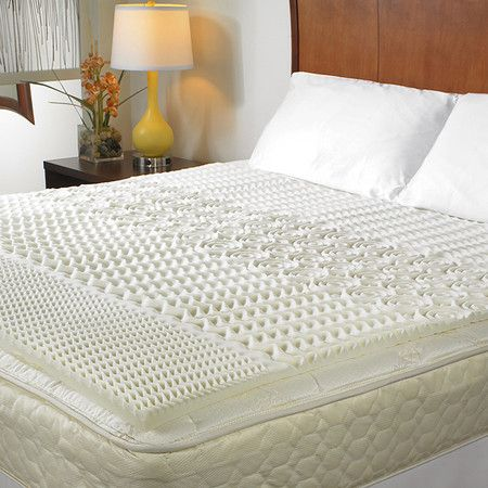 Crafted from memory foam, this essential hypoallergenic mattress pad adds a cozy layer to your bedding.  Product: Mattress pad