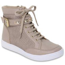 60502c7fe2 Ténis-bota cinzentos