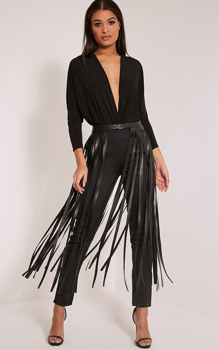 Fringe Belt Dress