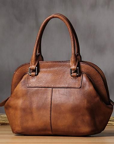 7ec2721c264 Handmade Leather handbag purse shoulder bag for women leather shopper bag