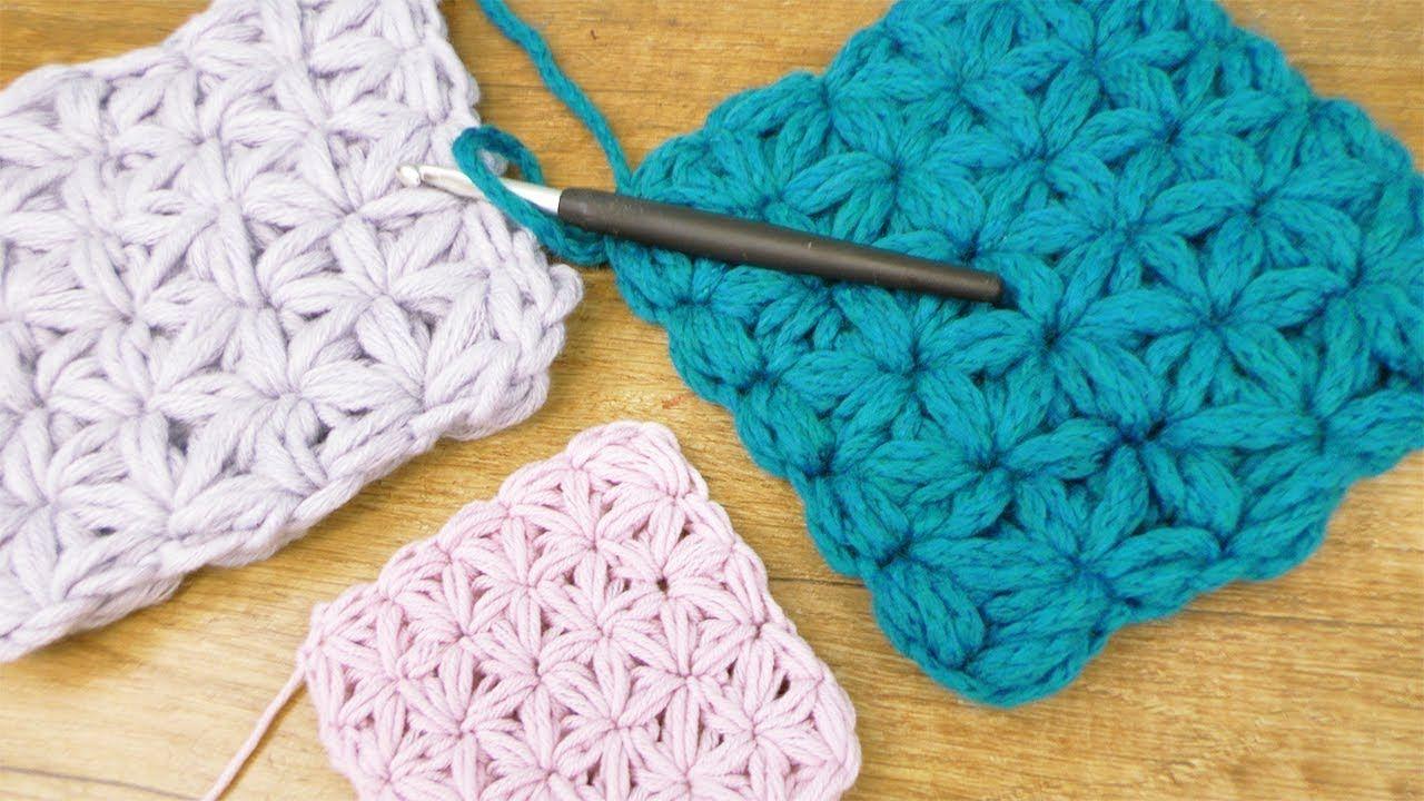 Blumen Häkeln Jasmin Muster Häkeln Sterne Einfache Anleitung