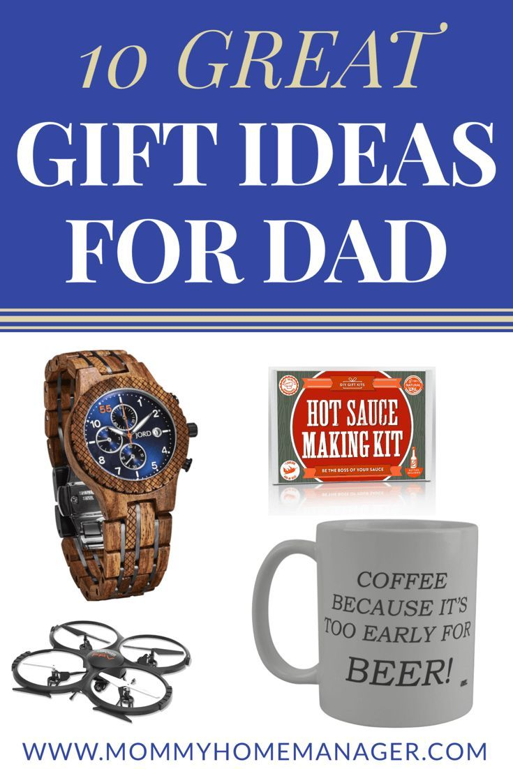 10 Great Gift Ideas for Dad | Pinterest | Find man, Dads and Check