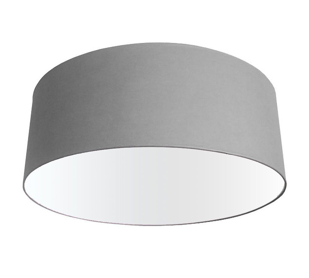 70cm Extra Large Oversize Grey Drum Shade Drum Shade Lamp Shades Extra Large Lamp Shades