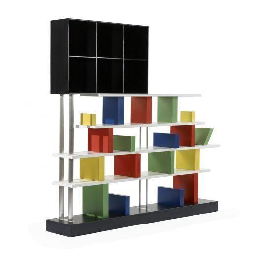 Ettore Sottsass, bookshelf