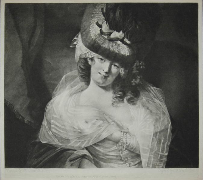 [ll] viaLibri ~ A Parmesan Lady. (Love in her eye sits playing - Smith, John Raphael (1752-1812) - 1778. [435205]