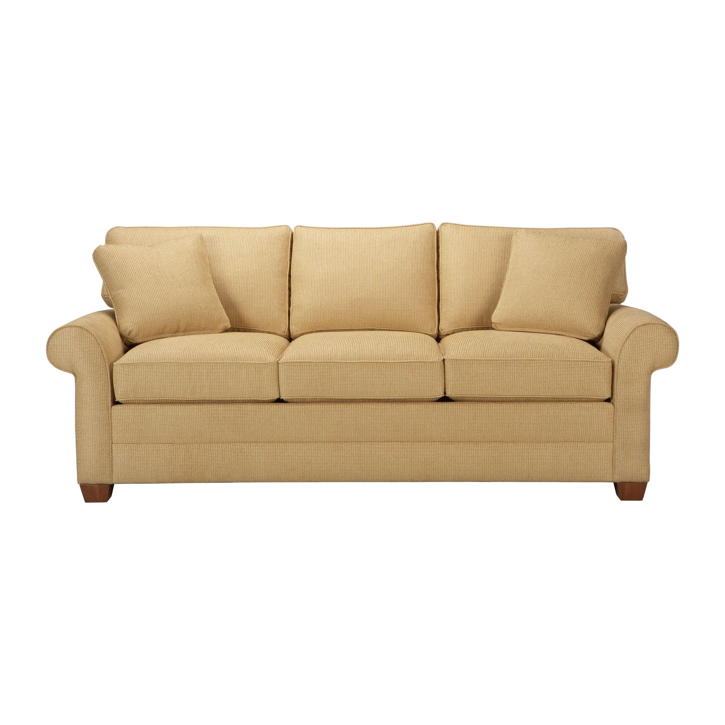 Bennett Three Cushion Roll Arm Sofas Ethan Allen Us