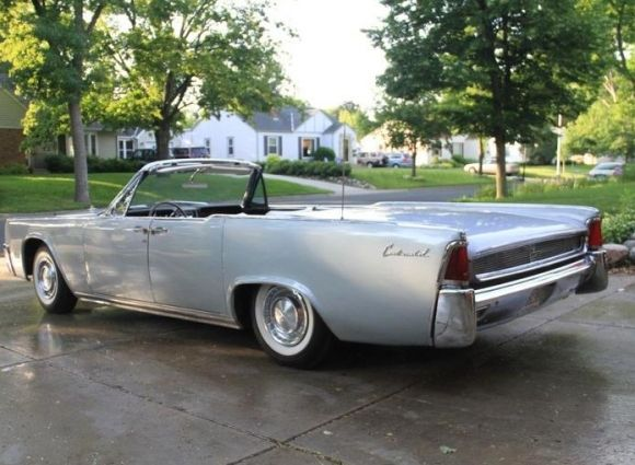 This 1961 Lincoln Continental convertible is described as an early