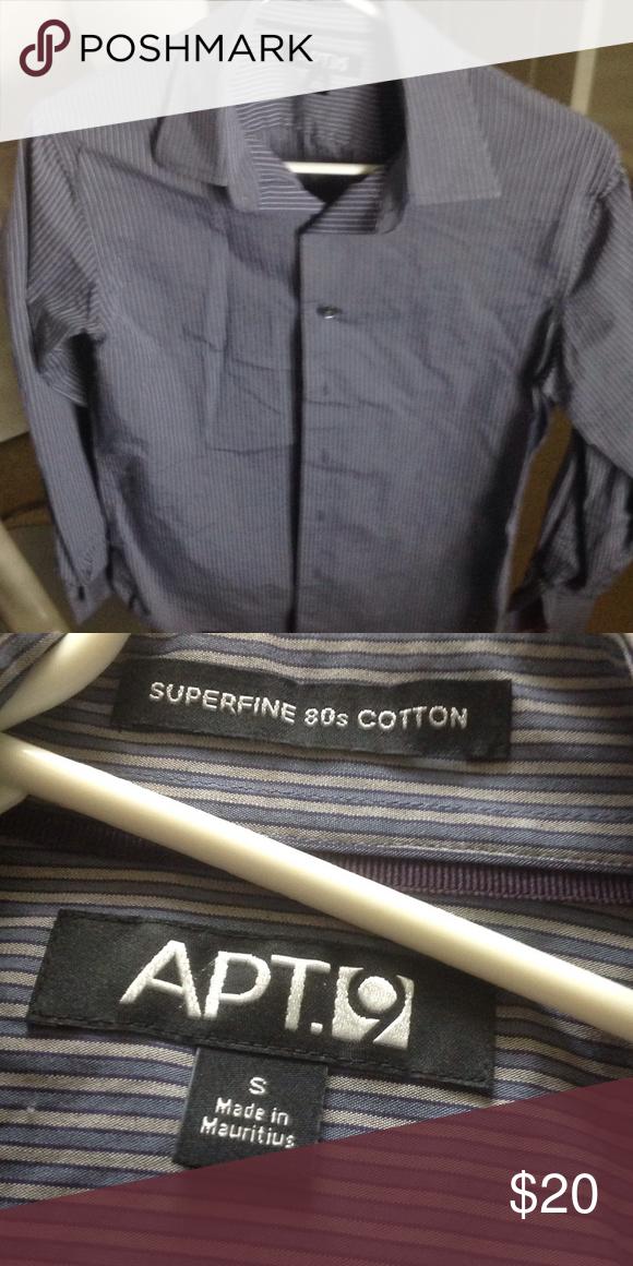 Beautiful Great Style APT 9 Nice Button Up Dress Shirt