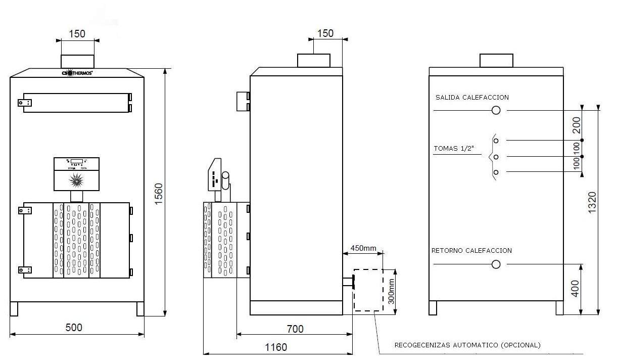 Caldera de biomassa - Caldera de calefaccion ...
