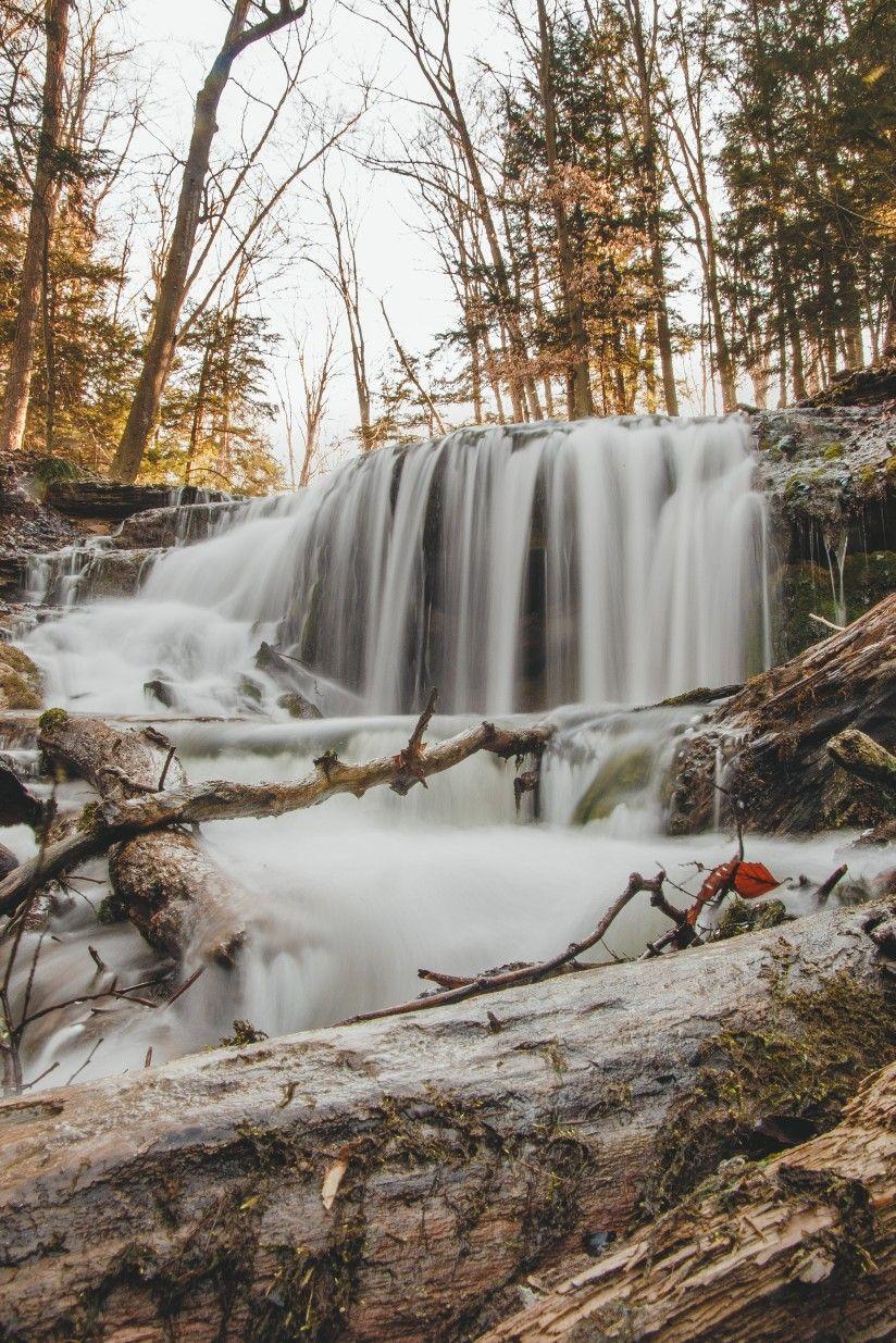 Waterfall in Owen Sound, Ontario in 2020 Photographer