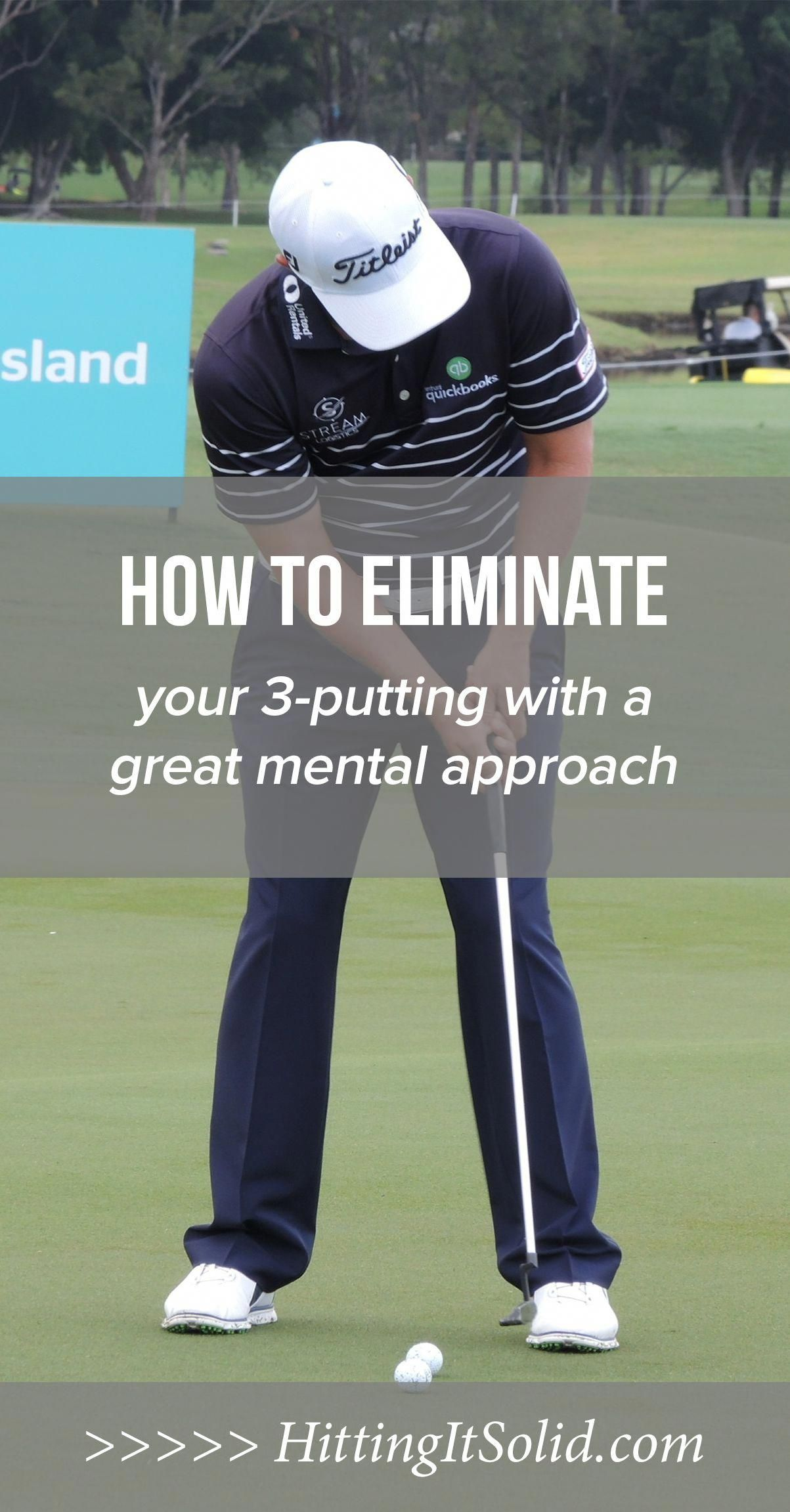 Learn how to stop 3putting in golf with a better golf
