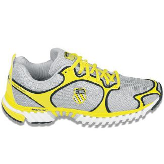 K-Swiss Kwicky Blade Light Shoes (Silver/Yellow/Black) - Men's Shoes - 9.5 M