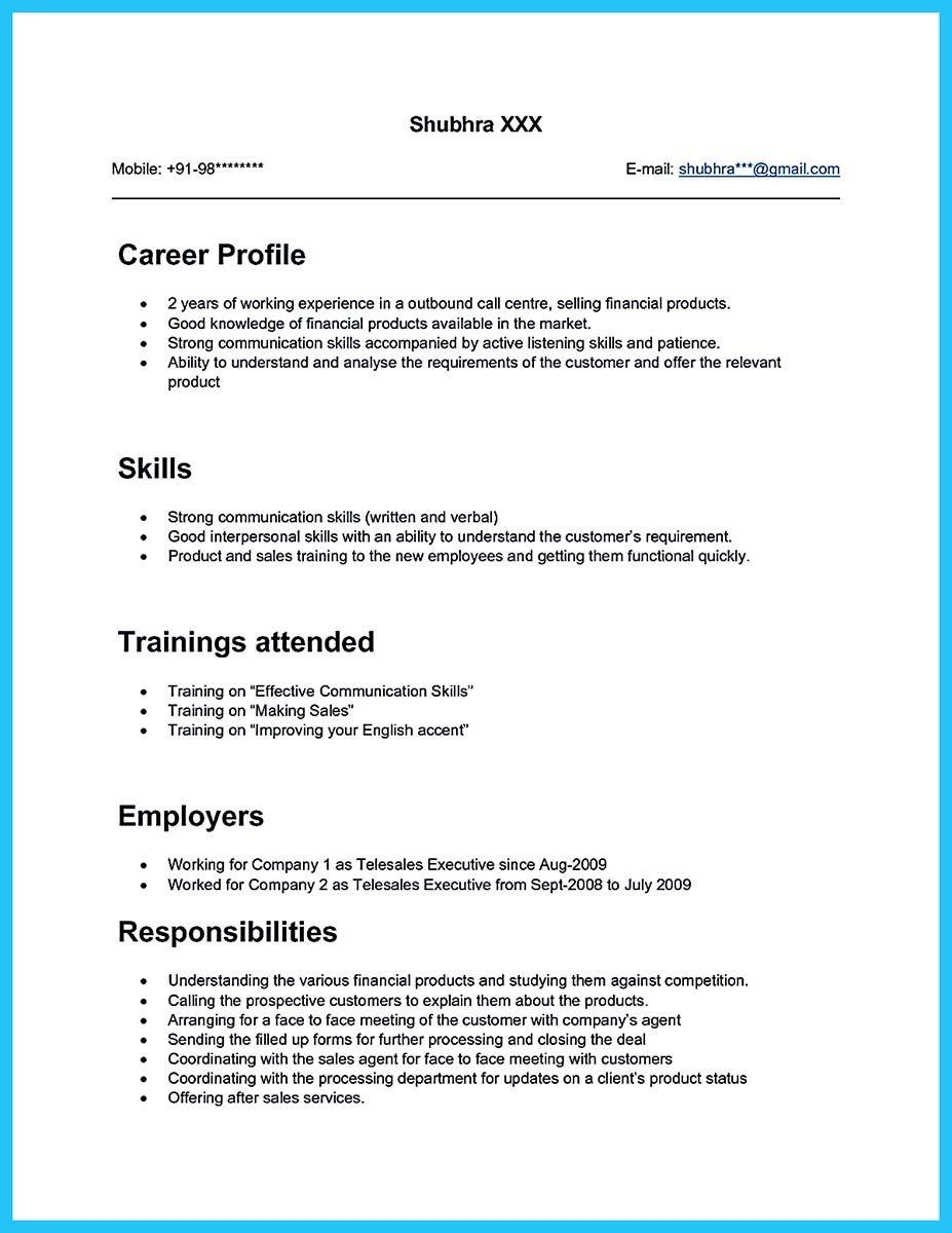 Objective For Call Center Resume Resume Sample