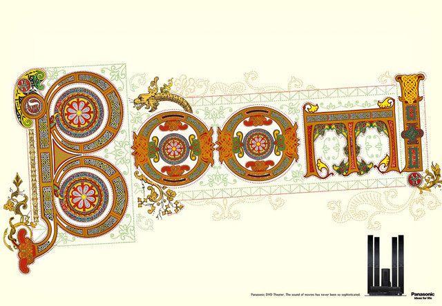 La Panasonic DVD Theater: Boom como un ejemplo de la tipografía ejemplo de inspiración en anuncios impresos