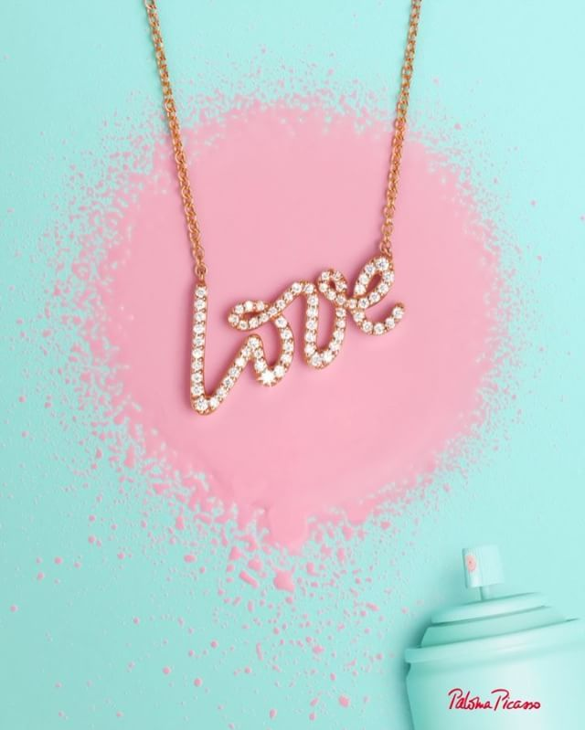 Love is when you finally spell it out our paloma picasso palomas love is when you finally spell it out our paloma picasso palomas graffiti love pendant in 18k rose gold is better than a love letter aloadofball Gallery