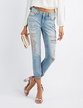 aa74a5c144e2 Ripped Jeans   Distressed Denim
