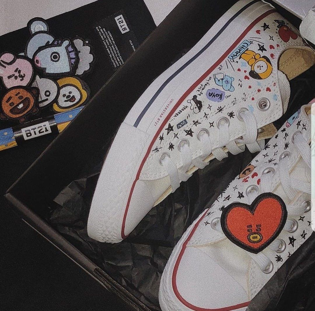 precio moderado precio moderado compre los más vendidos Pin by Crystal Yap on Boy Group BTS | Converse shoes, Bts ...