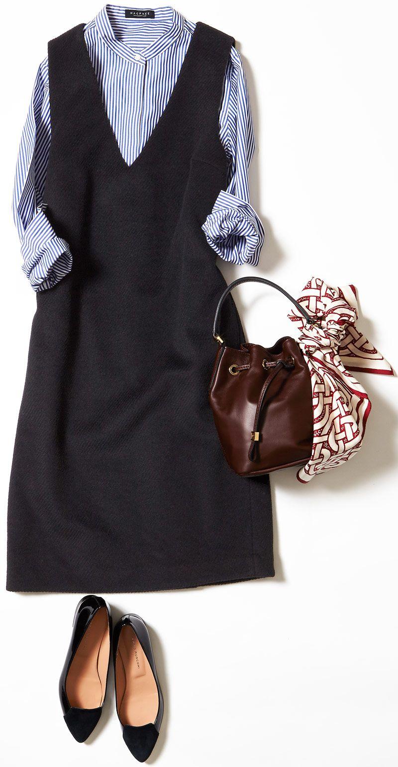 今週のレッスン 冬のワンピース セットアップの着こなし ルミネ北千住 trendy fashion fashion fashion outfits